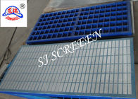 Shale Shaker Oil Vibrating Sieving Mesh Plastic Frame For Drilling Rig